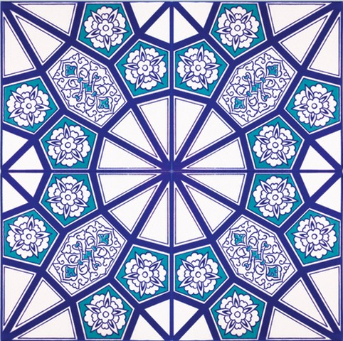 Ceramic Square Tiles Iznik Ckm Carpets Turkish